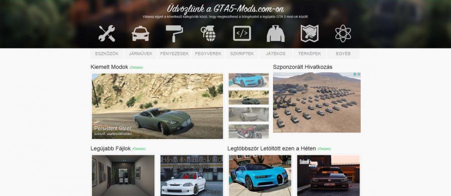 Magyarul elérhető a GTA5-Mods.com